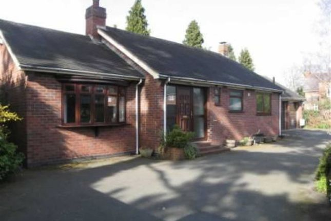 Thumbnail Detached bungalow to rent in Wenlock Road, Shrewsbury
