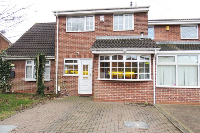 Thumbnail Town house for sale in Derrington Leys, Alvaston, Derby