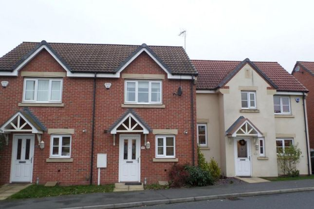 Thumbnail Town house to rent in Parkway, Chellaston, Derby