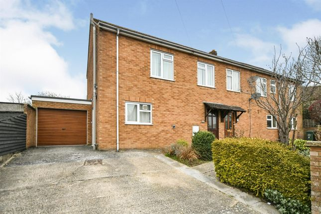Thumbnail Semi-detached house for sale in Hill Rise, Chippenham