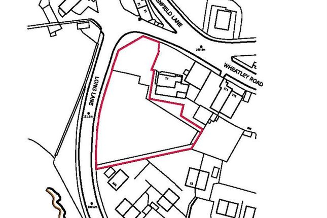 Thumbnail Land for sale in Land At Long Lane, Wheatley, Halifax