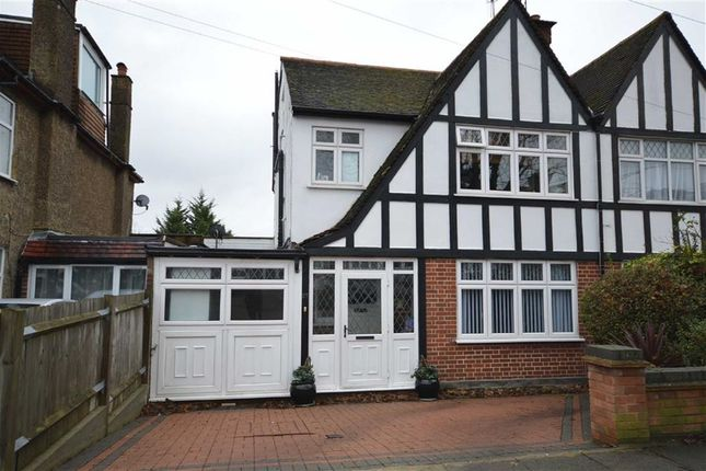 Thumbnail Semi-detached house for sale in Ambleside Gardens, Wembley, Middx