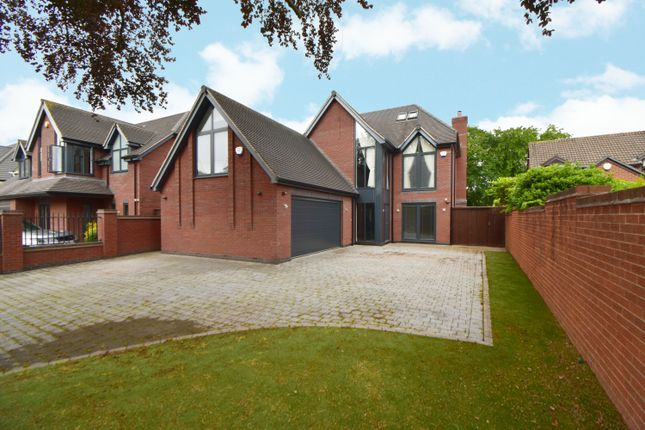 Thumbnail Detached house for sale in Creynolds Lane, Shirley, Solihull