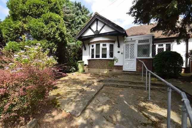Thumbnail Semi-detached bungalow for sale in Roding Lane South, Redbridge, Essex