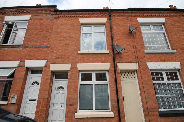 Thumbnail Terraced house for sale in Warwick Street, West End, Leicester