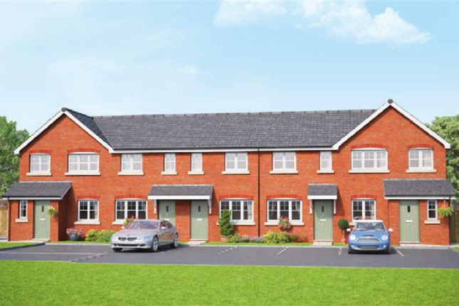 Thumbnail Town house for sale in The Highfield, Erddig Place, Wrexham