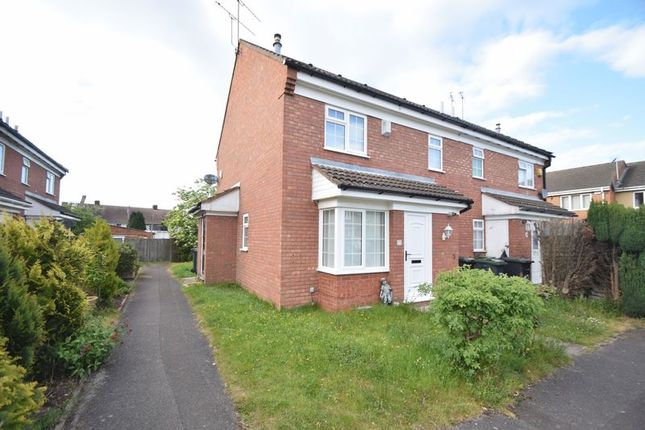 Thumbnail Terraced house for sale in Howard Close, Luton