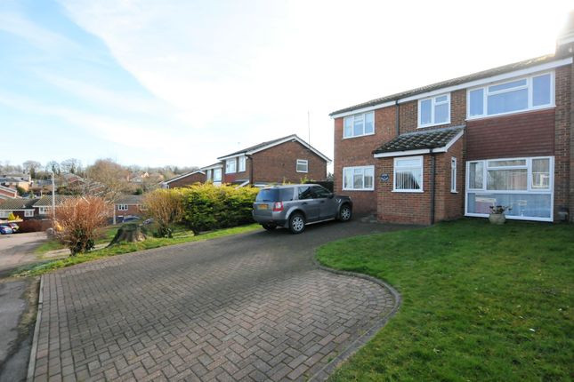 Thumbnail Semi-detached house for sale in Highlands, Royston