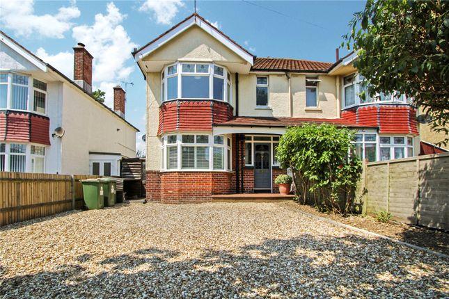 Thumbnail Semi-detached house for sale in Regents Park Road, Southampton, Hampshire