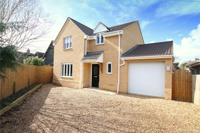 Thumbnail Detached house for sale in Green Lane, Hail Weston, St. Neots