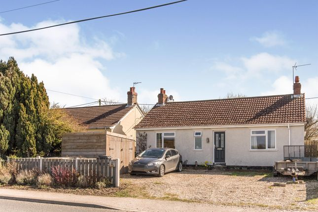 Detached bungalow for sale in High Road, Great Finborough, Stowmarket