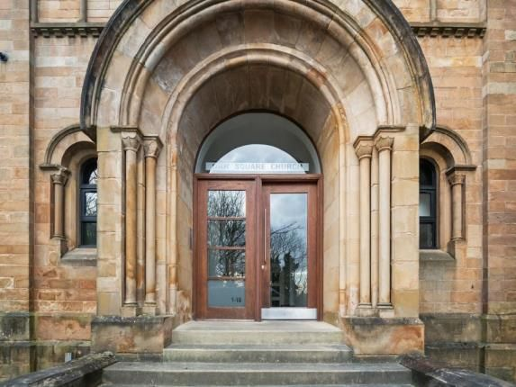 Entrance of Orr Square Church, Orr Square, Paisley, Renfrewshire PA1