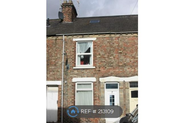 Thumbnail Terraced house to rent in Wellington Street, York
