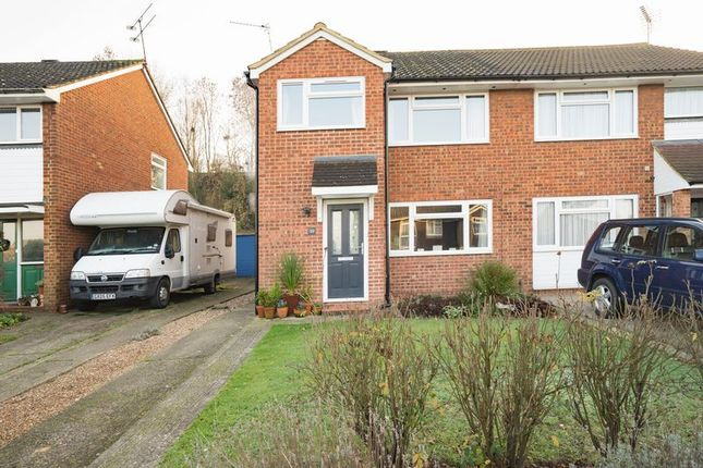 Thumbnail Semi-detached house for sale in Molescroft Way, Tonbridge