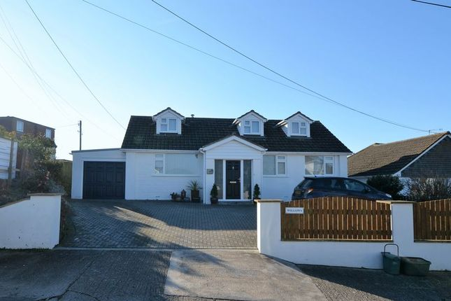 Thumbnail Detached bungalow for sale in Four Bed Chalet-Style Bungalow, Rectory Lane, Instow