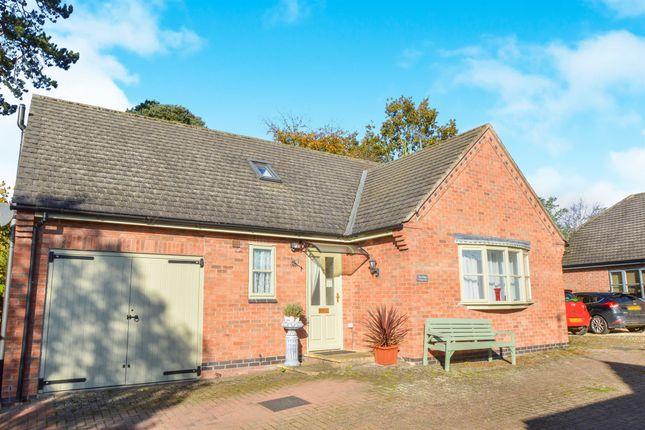 Thumbnail Detached bungalow for sale in Weskers Close, Clipston, Market Harborough