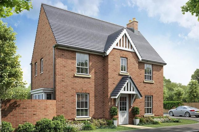 """Thumbnail Detached house for sale in """"Morpeth"""" at Beggars Lane, Leicester Forest East, Leicester"""
