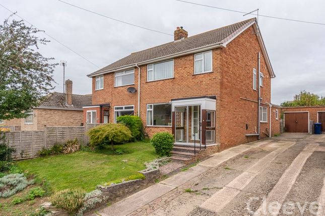 Thumbnail Semi-detached house for sale in Delabere Road, Bishops Cleeve, Cheltenham