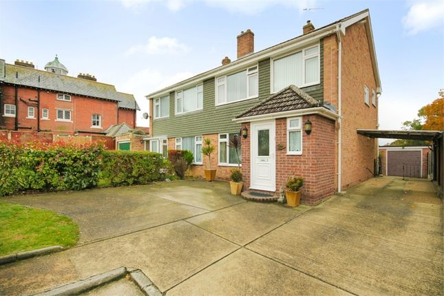 Thumbnail Semi-detached house for sale in Shrubland Court, Clacton-On-Sea