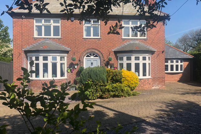 Thumbnail Detached house for sale in Kirk Bramwith, Doncaster