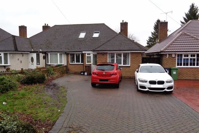 Thumbnail Semi-detached bungalow to rent in Melton Avenue, Solihull, West Midlands