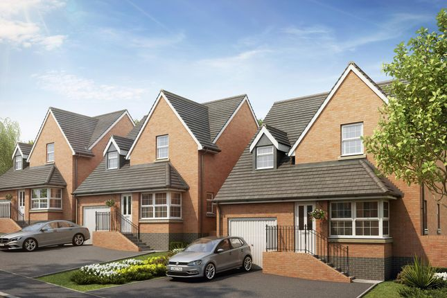 "Thumbnail Detached house for sale in ""Alston"" at Bevans Lane, Pontrhydyrun, Cwmbran"