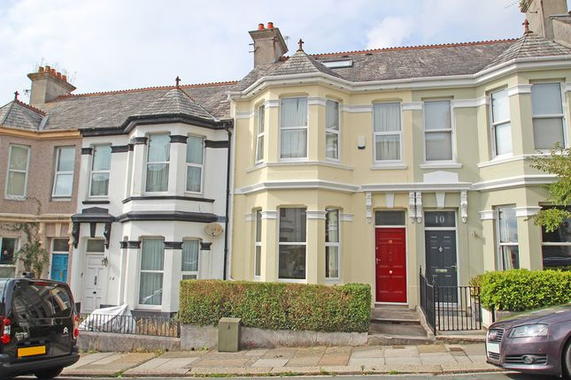 Thumbnail Terraced House For Sale In Rosslyn Park Road Peverell Plymouth