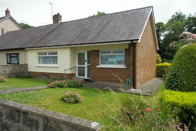 Thumbnail Semi-detached bungalow for sale in Cylch Peris, Llanon