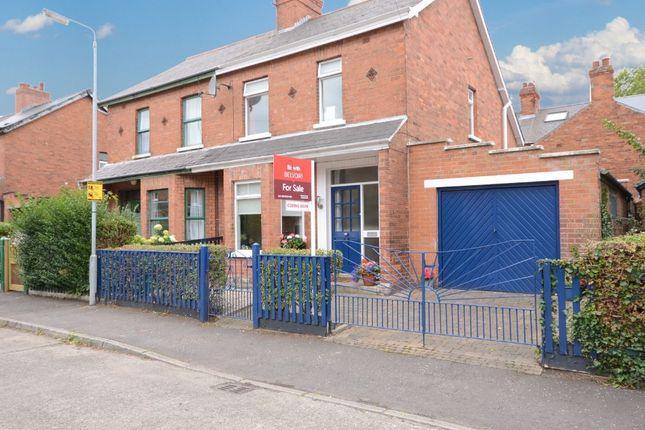 Thumbnail Semi-detached house for sale in Rushfield Avenue, Ormeau Road, Belfast
