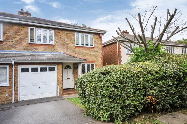Thumbnail Semi-detached house for sale in Ashfield Close, Beckenham, Kent