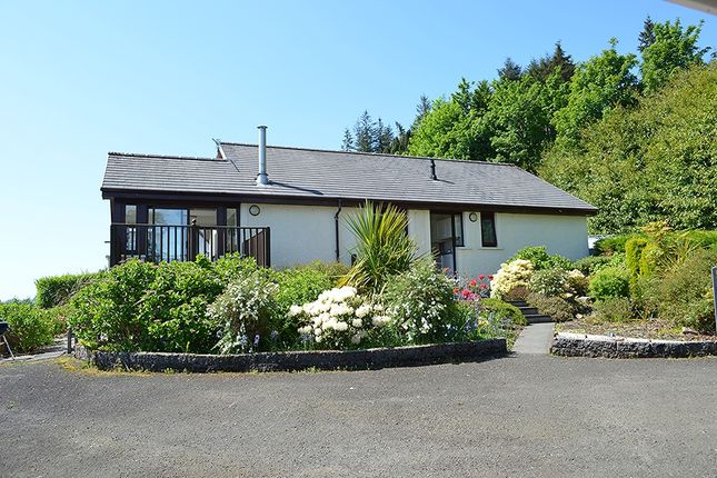 Thumbnail Bungalow for sale in Ardhallow Park, 90 Bullwood Road, Dunoon, Argyll And Bute