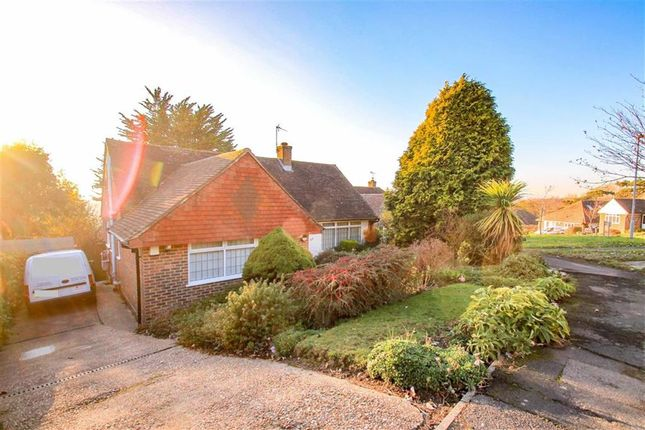 Thumbnail Detached bungalow for sale in Gresham Way, St Leonards-On-Sea, East Sussex