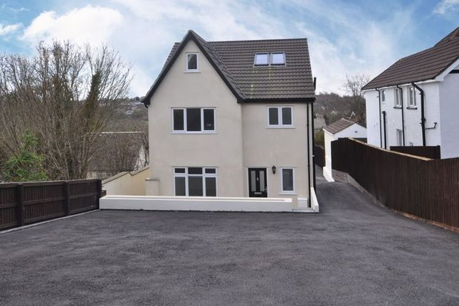 Thumbnail Detached house for sale in Large Family House, Risca Road, Newport