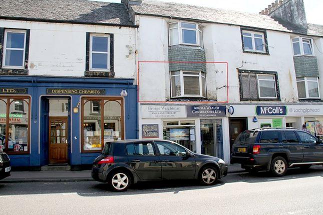 Thumbnail Flat for sale in Flat 1, 6-8 Argyll Street, Lochgilphead