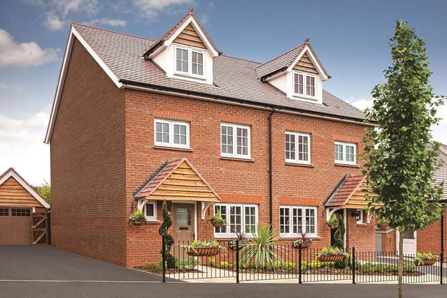 """Thumbnail Semi-detached house for sale in """"Kenilworth"""" at Halling, Rochester"""