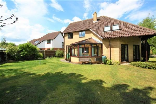 Thumbnail Detached house for sale in Feast Close, Fordham, Ely