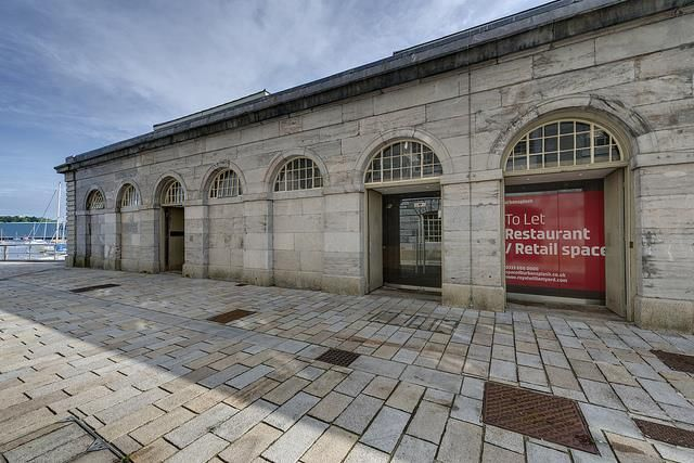 Thumbnail Restaurant/cafe to let in Unit A&B Slaughterhouse, Royal William Yard, Plymouth, Devon