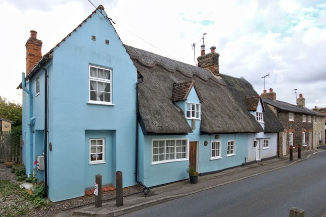 Thumbnail End terrace house for sale in Frogge Street, Ickleton, Saffron Walden