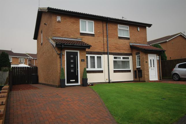 2 bed semi-detached house to rent in Alderley Close, The Cotswolds, Boldon Colliery