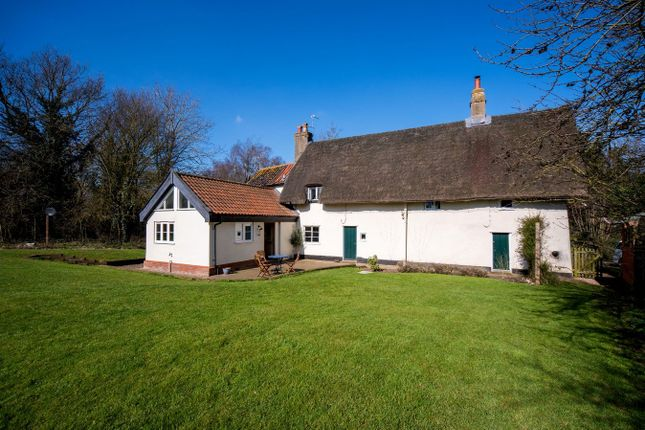 Thumbnail Detached house for sale in Mellis Road, Thrandeston, Diss