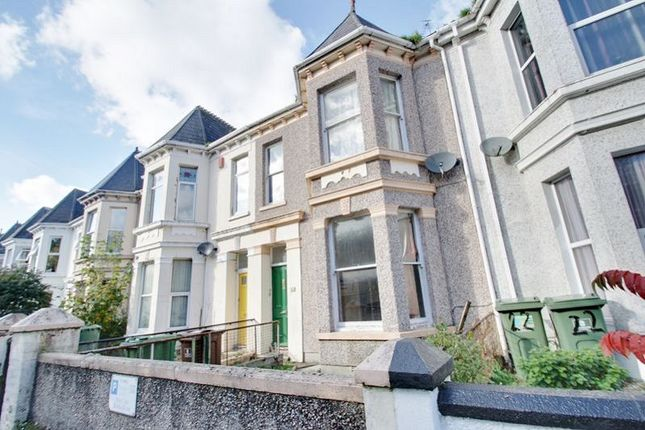 Thumbnail Terraced house for sale in Gifford Terrace Road, Mutley, Plymouth