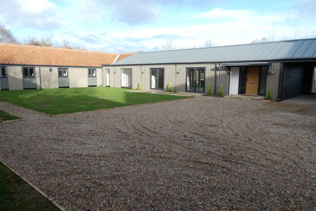 Thumbnail Barn conversion for sale in Moulton St Mary, Norfolk