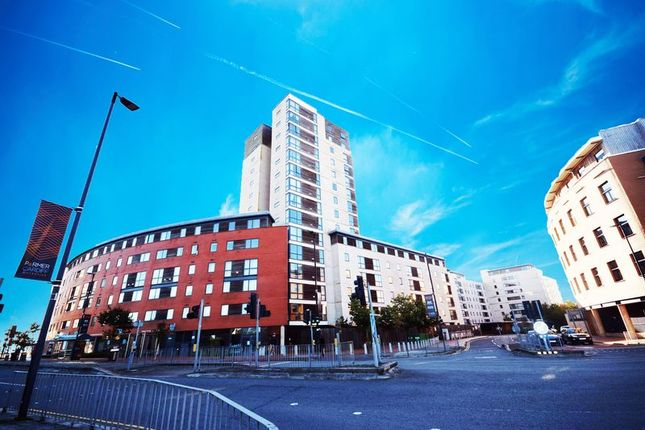 Thumbnail Flat for sale in Aquila House, Falcon Drive, Cardiff Bay