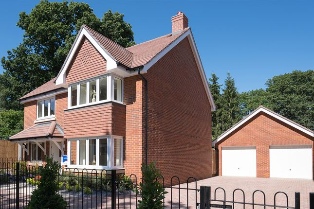 "Thumbnail Detached house for sale in ""The Canterbury"" at Bridge Road, Bursledon, Southampton"