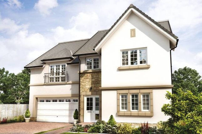 "Thumbnail Detached house for sale in ""The Garvie"" at Hillview Gardens, Nivensknowe Park, Loanhead"
