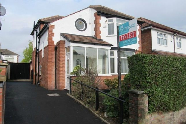 Thumbnail Detached house to rent in Silverdale Avenue, Prestwich, Manchester