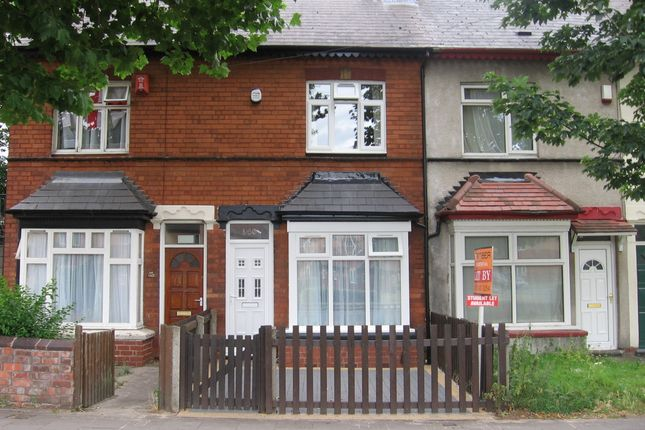Thumbnail Terraced house to rent in Grosvenor Road, Perry Barr, Birmingham