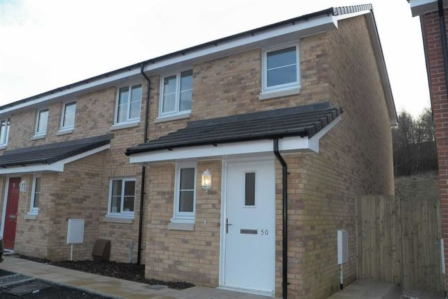 Thumbnail End terrace house for sale in Brunel Wood, Upper Bank, Pentrechwyth