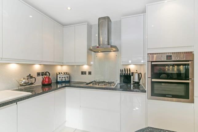 Kitchen of River View, Kirkcaldy, Fife, Scotland KY1