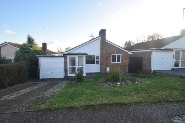 Thumbnail Detached bungalow for sale in Castle Rise, Hadleigh, Ipswich